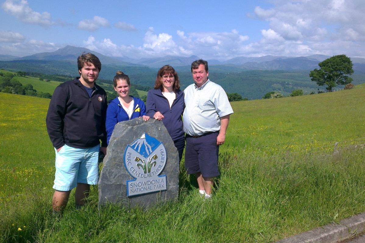 'The Secret View' of Snowdonia