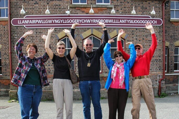 Hands up if you can pronounce it! On tour with Boutique Tours of Wales.