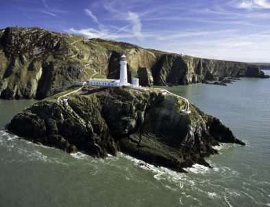South Stack Lighthouse and the Anglesey Coastline