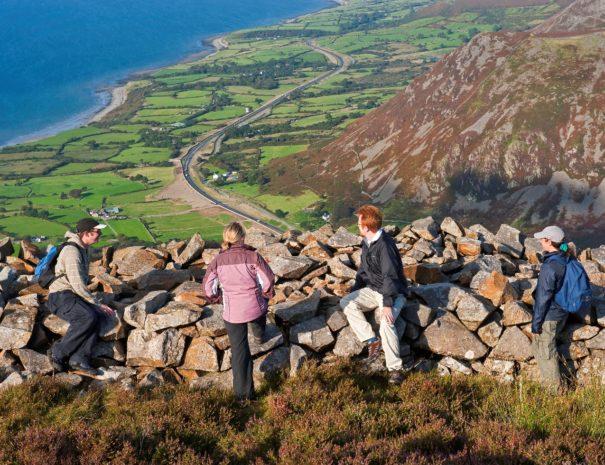 Enjoy the elevated views of the Llŷn Peninsula