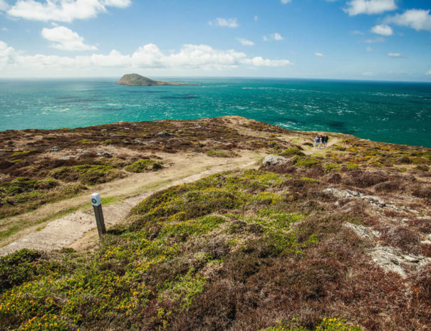 Lands End on the Llŷn Peninsula with Bardsey Island