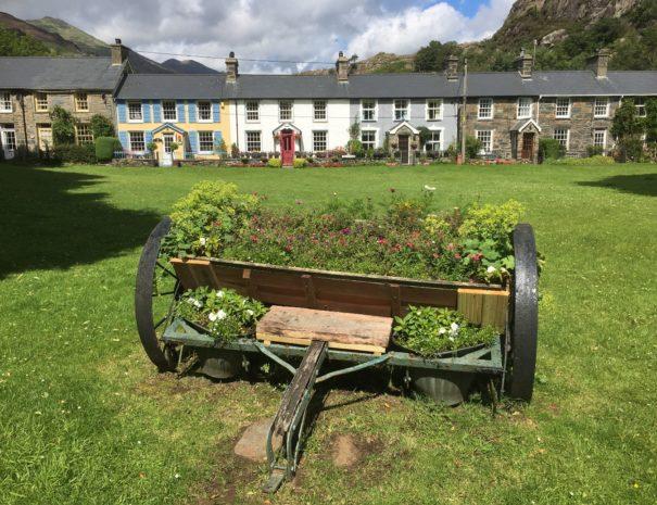 The pretty village of Beddgelert, Snowdonia National Park