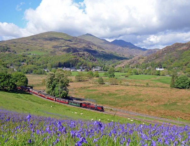 Steam Train ride through Snowdonia