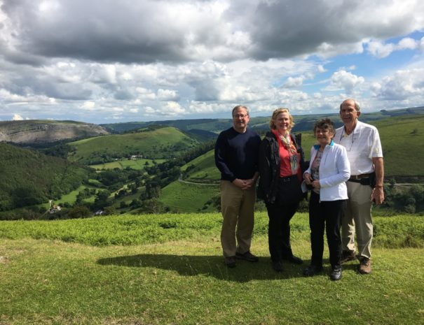 On tour with Boutique Tours at the Horseshoe Pass