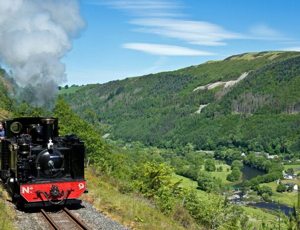 The Rheidol Valley Steam Train
