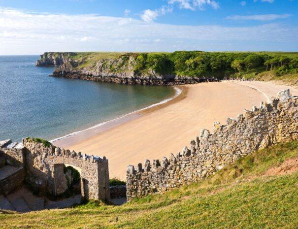 Day 2: One of the top beaches in Britain! Barafundle Bay in the Pembrokeshire Coastal National Park
