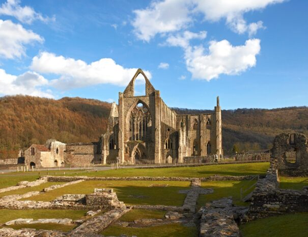 Magnificent Tintern Abbey Ruins
