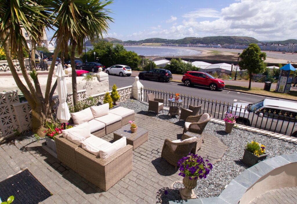 The Elm Tree Hotel, Llandudno – Terrace View