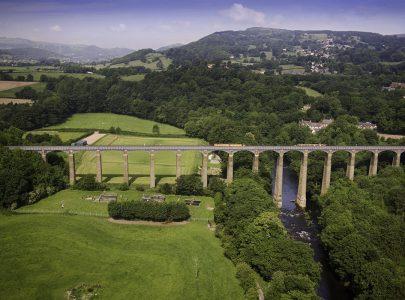 The UNESCO Pontcysyllte Aqueduct