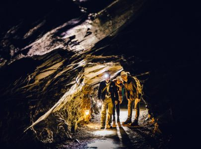 Underground Tunnels of the Slate Mine - Cultural Tour of Wales