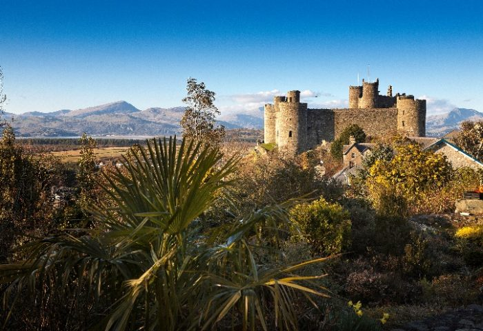 Spectacular Harlech UNESCO Castle in North Wales