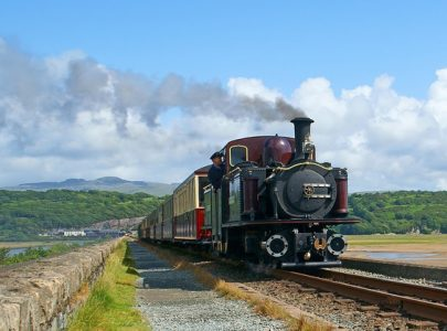 One of the Great Little Steam Trains of Wales - Ffestiniog Railway
