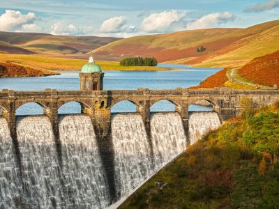 Elan Valley Dam and Reservoir