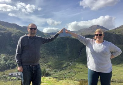 Mount Snowdon Viewpoint – It's that one there!